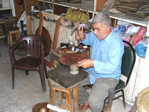 Coppersmith at work.JPG